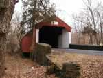One of the many covered bridges
